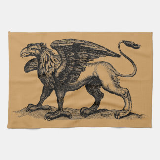 Griffon/seize Tea Towel