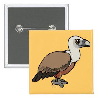 Griffon Vulture 15 Cm Square Badge
