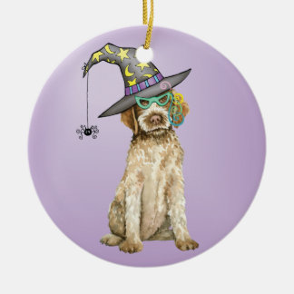Griffon Witch Christmas Ornament