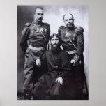 Grigori Rasputin General Putyatin Colonel Lotman Poster