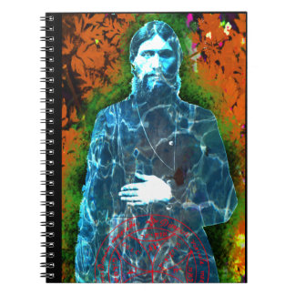 Grigori Rasputin Russian History Mad Monk Mystic Notebook