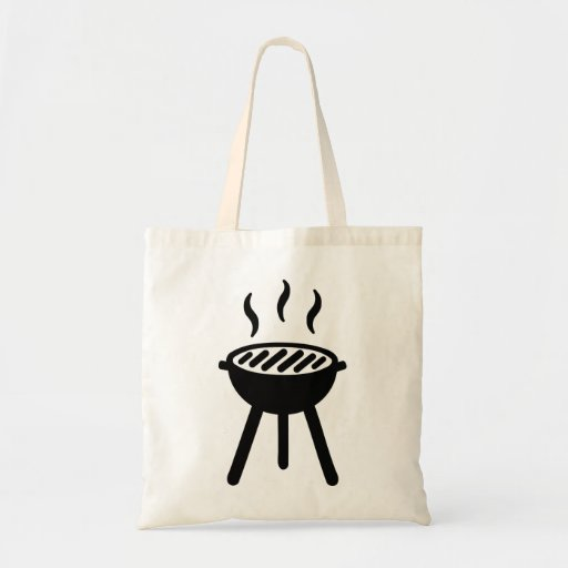 Grill BBQ Tote Bag