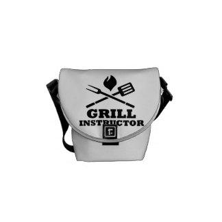 Grill BBQ Instructor Messenger Bag