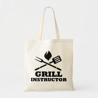 Grill BBQ Instructor Tote Bags