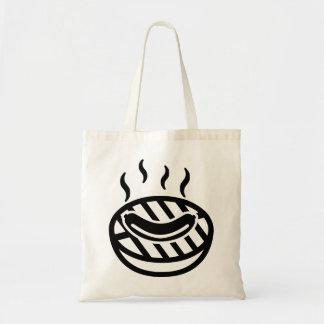 Grill BBQ sausage Tote Bag