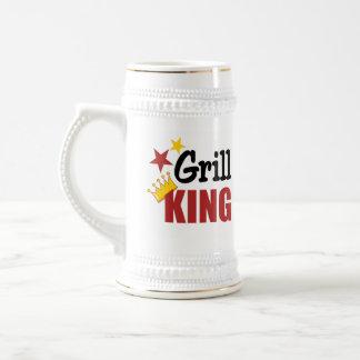 Grill King Barbecue Gift Coffee Mug