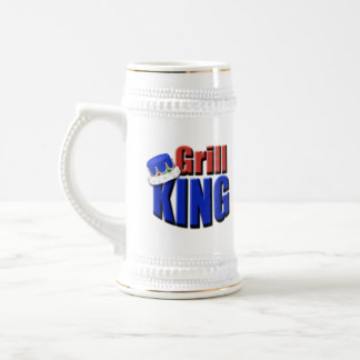 Grill King Barbeque Gift Coffee Mugs
