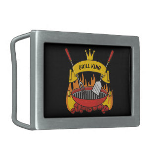 Grill King Belt Buckle