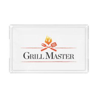 Grill Master Acrylic Tray