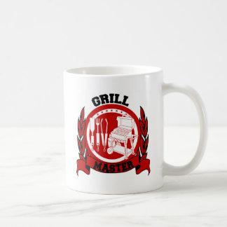 Grill Master Basic White Mug