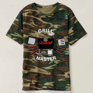 Grill Master Camouflage Shirt