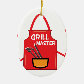 Grill Master Christmas Ornament