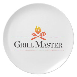 Grill Master Dinner Plate