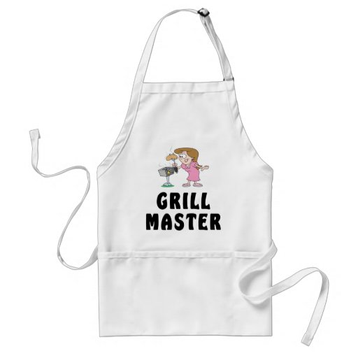 Grill Master Female Apron