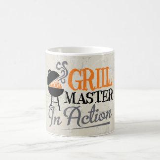 Grill Master In Action Basic White Mug