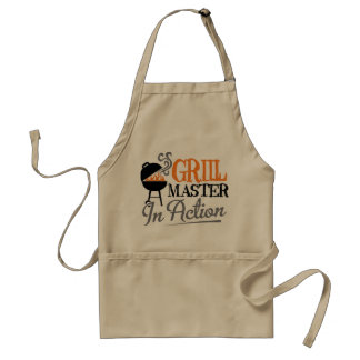 Grill Master In Action Standard Apron