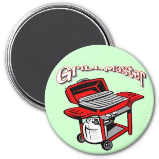 Grill Master Fridge Magnet