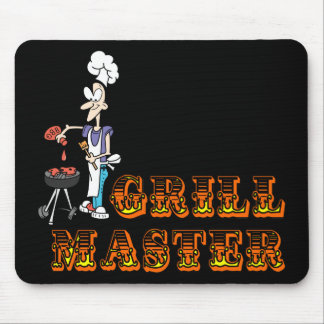 Grill Master Mouse Pad