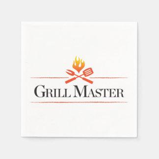 Grill Master Paper Napkins