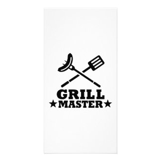 Grill Master Picture Card