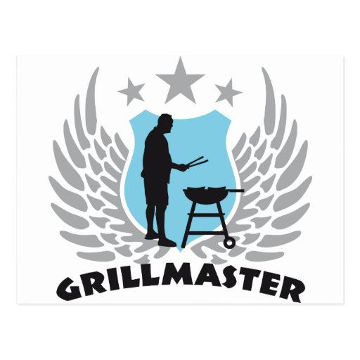 grill master post cards