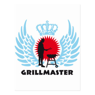 grill master postcards