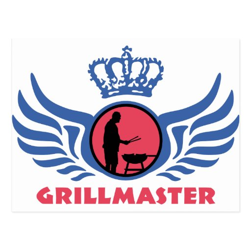 grill master post card