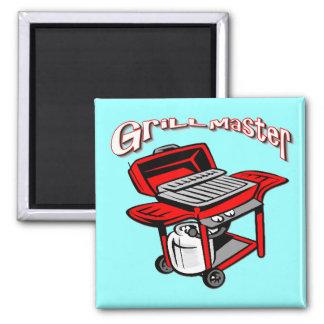Grill Master Refrigerator Magnet