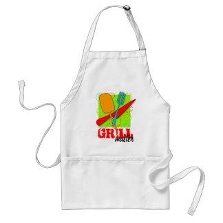 Grill Master Retro Barbecue King Standard Apron