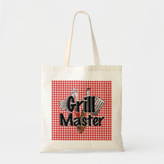 Grill Master with BBQ Tools Picnic Table Tote Bag