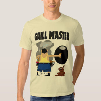 Grill Master with Dog Shirts