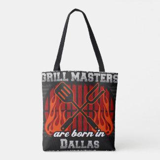 Grill Masters Are Born In Dallas Texas Tote Bag