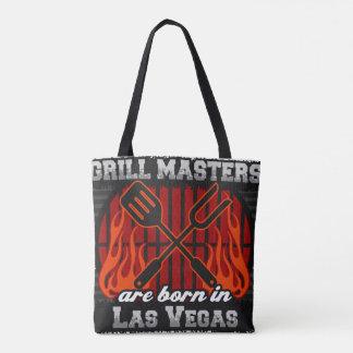 Grill Masters Are Born In Las Vegas Nevada Tote Bag
