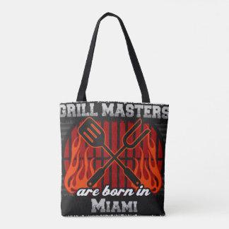 Grill Masters are Born in Miami Florida Tote Bag