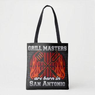 Grill Masters Are Born In San Antonio Texas Tote Bag