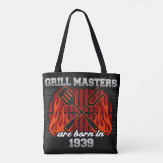 Grill Masters Are Born In the Year 1939 Tote Bag