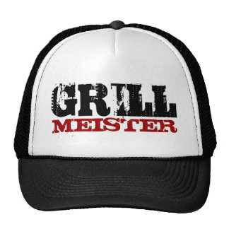 Grill meister hat