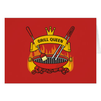 Grill Queen Card