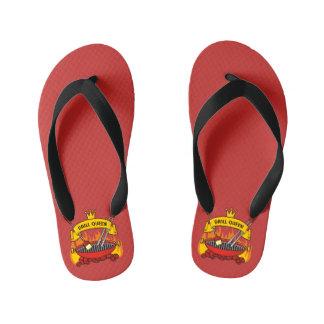 Grill Queen Kid's Flip Flops