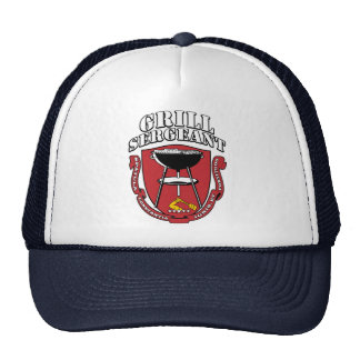 Grill Sergeant Barbecue Summer July 4th Hat