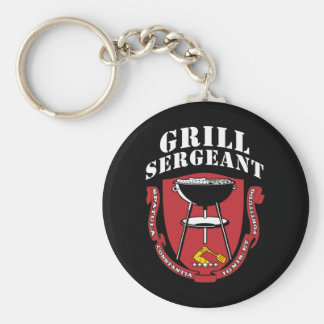 Grill Sergeant Barbecue Summer July 4th Key Chain