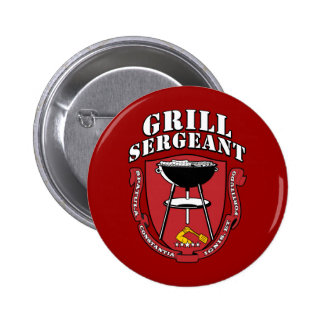 Grill Sergeant Barbecue Summer July 4th Pin