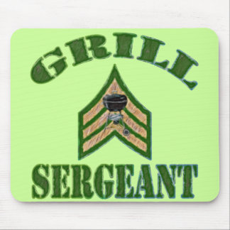 Grill Sergeant Mouse Pad