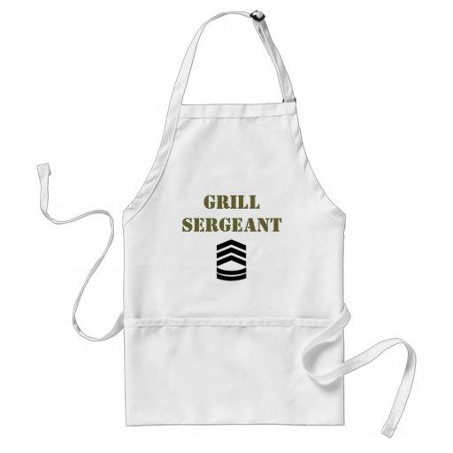 Grill Sergeant Standard Apron