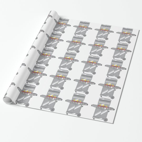 Grill Super Wrapping Paper