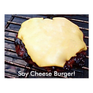 Grilled Cheese Burger Card