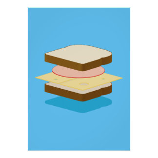 Grilled Cheese Poster Posters