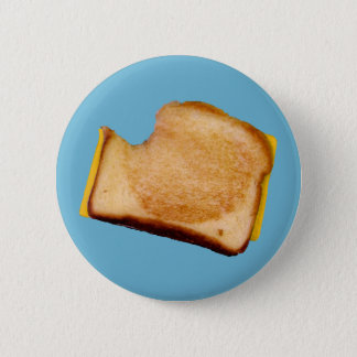 Grilled Cheese Sandwich 6 Cm Round Badge