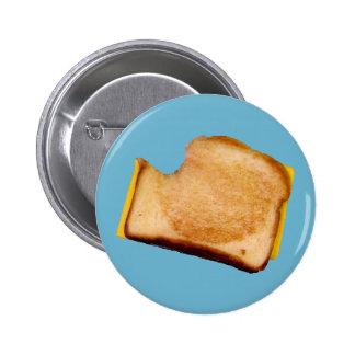 Grilled Cheese Sandwich 6 Cm Round Badge