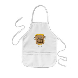 Grilled Cheese Sandwich Cheddar Toasted Bread Kids Apron